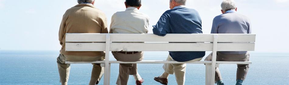 men-on-bench