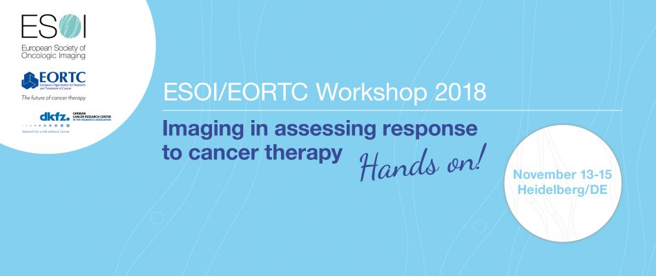 ESOI EORTC Workshop 2018 Imagine In Assessing Response To Cancer Therapy