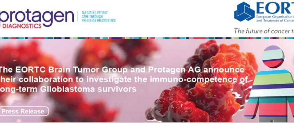 The EORTC Brain Tumor Group and Protagen AG announce their