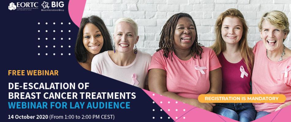 EORTC and BIG Breast cancer webinar 2020