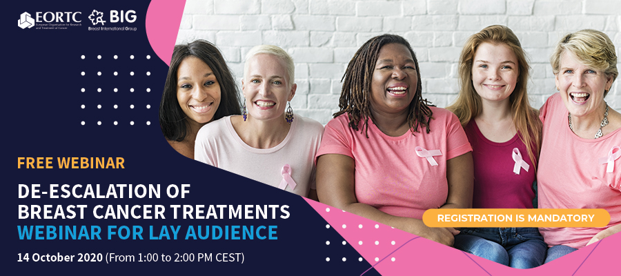 EORTC and BIG Breast cancer webinar 2020