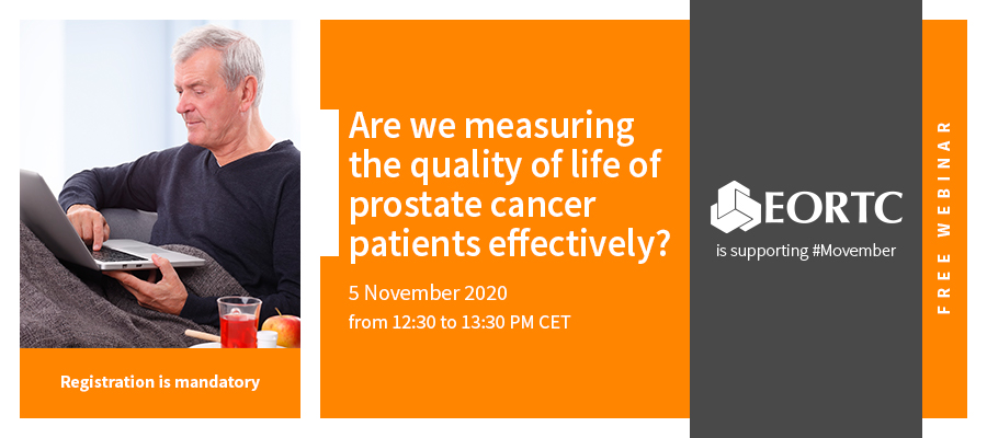 Banner webinar: Are we measuring the quality of life of prostate cancer patients effectively?