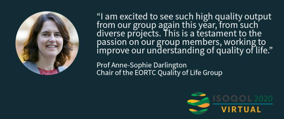 ISOQOL 2020 - Anne-Sophie Darlington's quote