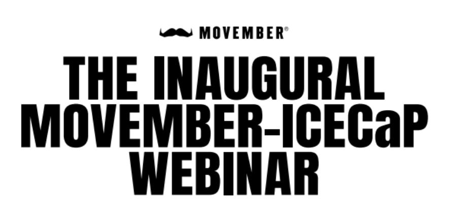 Movember-ICECaP webinar