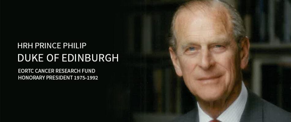HRH Prince Philip - EORTC Honorary President 1975-1992